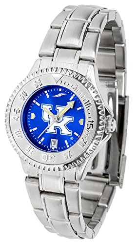 Linkswalker Kentucky Wildcats Ladies' Competitor Steel Anochrome Watch