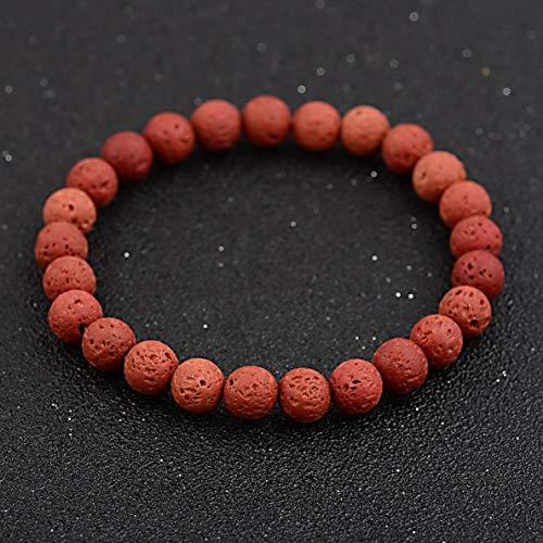 Florance jones 8MM Man Fashion Solid Simple Bracelet Tigers Eye Beaded Stretch Bracelets Gift | Model BRCLT - 36394 |