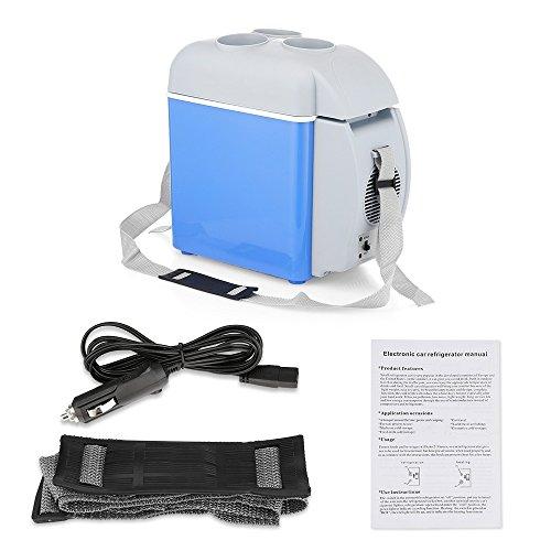 BISOZER Portable 7.5L Mini 12V Car Refrigerator Freezer Dual-Use Home Travel Vehicular Car Fridge Dual-Mode Temperature Control Dual-use by BISOZER (Image #3)
