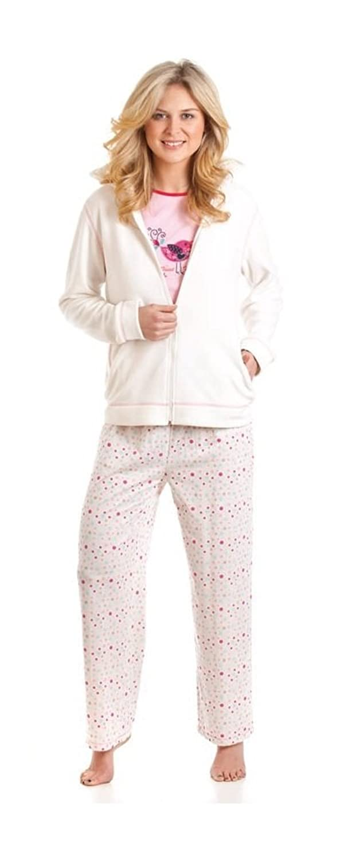 Ladies La Marquise Snow Bubbles Warm Pyjama Set with Beautifully Soft Fleece Hoodie