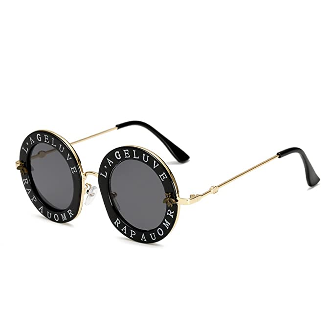 Sonnenbrille, Europa und den Vereinigten Staaten Brille Trend Sonnenbrille, Retro Sonnenbrille, B