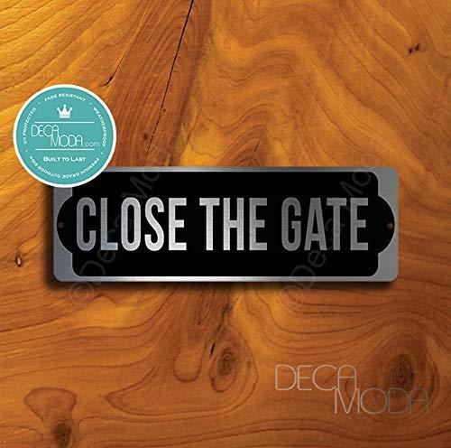 Deca Moda Cerrar la Puerta - por Favor Mantener Cerrado ...