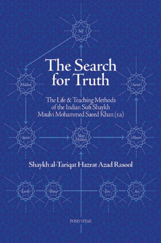 The Search For Truth  The Life And Teaching Methods Of The Indian Sufi Shaykh Hazrat Maulvi Muhammad Sa'id Khan  R