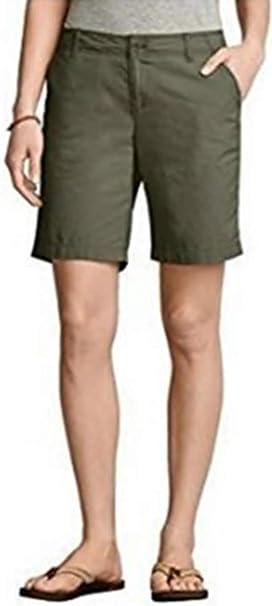 06b713daddea Shorts Bermudas Mujer de Eddie Bauer - algodón, OLIVA, 100% algodón ...
