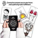 Naked Heart Tarot by Jillian C. Wilde - Black Tarot