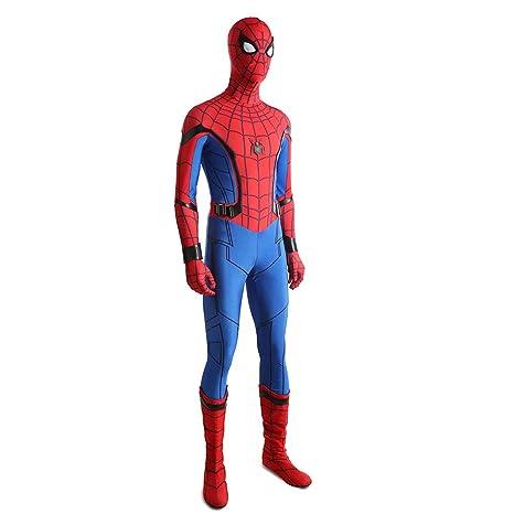 KYOKIM Superhéroe Spiderman Ropa Cosplay NiñO Adulto Vestido ...