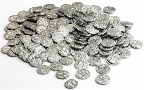100 x Viking Sihtric and York Penny replica coins Westair