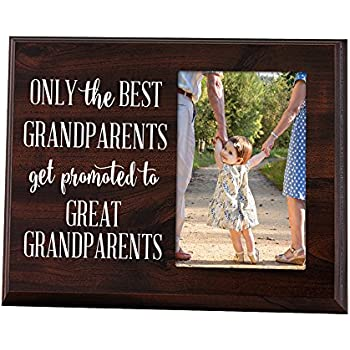 Amazon.com - Elegant Signs Only the Best Grandparents Get Promoted ...