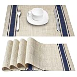 Best Placemats - DACHUI Placemats, Heat-Resistant Placemats Stain Resistant Anti-Skid Washable Review