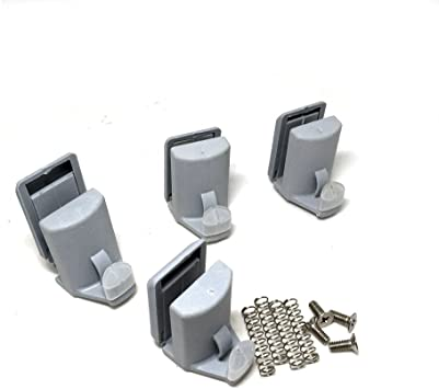 SmoothLY 106-4 - Rodamientos para mampara de ducha , 4 unidades: Amazon.es: Bricolaje y herramientas