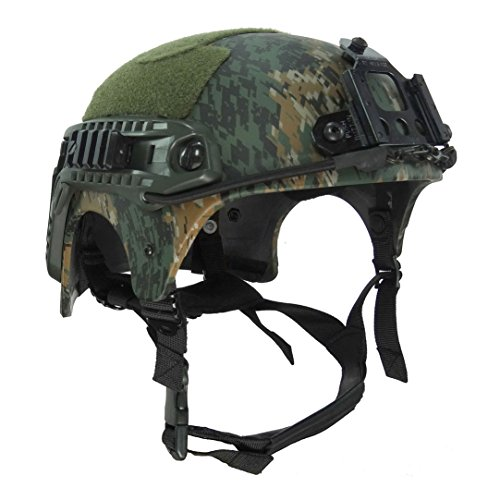 HYOUT Navy Seal IBH Tactical Military Camo Helmets Outdoor Airsoft Paintball (Camo Tactical Paintball)