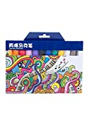 MEEDEN Acrylic Paint Markers Medium Tip Acrylic Pens for Ceramic Crockeries, Rock, Metal, Wood, Fabric, Canvas, Glass, 12 Assorted Colours