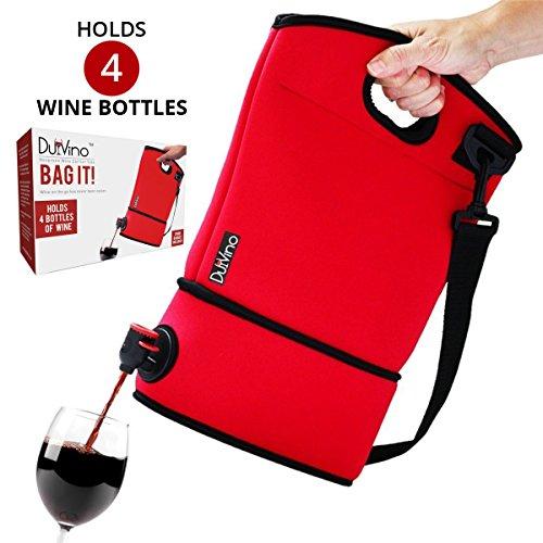 Wine Purse Tote Disposable Baggies