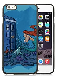 New iPhone 6S Plus Case,Dr Who With Ariel Black iPhone 6S Plus TPU Phone Case
