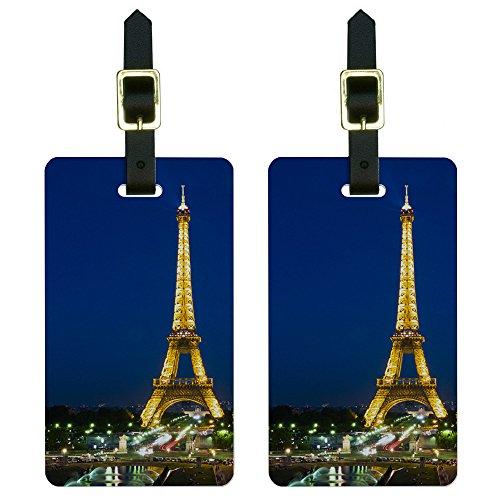 Paris Eiffel Luggage Suitcase Carry