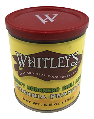Whitley's Smoky Habanero Chili Lime Virginia Peanuts for sale  Delivered anywhere in USA