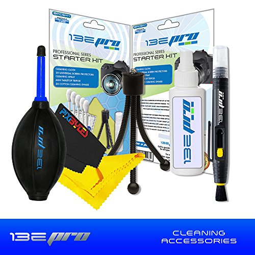 I3ePro Cleaning Accessory Bundle for the Nikon COOLPIX B500 Digital Camera with Dust Blower and Cleaning Kit