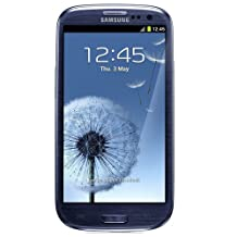 Samsung GT-I9300 Galaxy S III S3 GSM Unlocked Smartphone with 8MP Camera, 1.4 GHz Quad-Core, Wi-Fi, GPS, 4.8-Inch Screen, 16 GB Memory, No Warranty (Pebble Blue)
