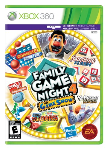 Family Game Night 4: The Game Show - Xbox 360 (Best Family Kinect Games)
