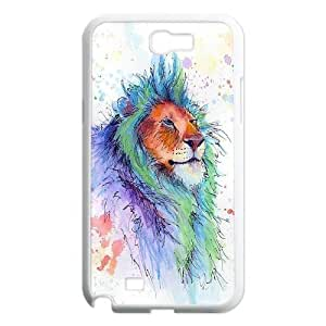 Yo-Lin case FXYL265934Big animal lion pattern protective case For Samsung Galaxy Note 2 Case