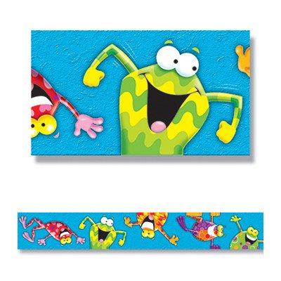 (Frog Tastic Straight Edge Classroom Border [Set of 2])