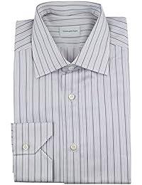 Milano Multi-Color Cotton Dress Shirt Size 39/15.5