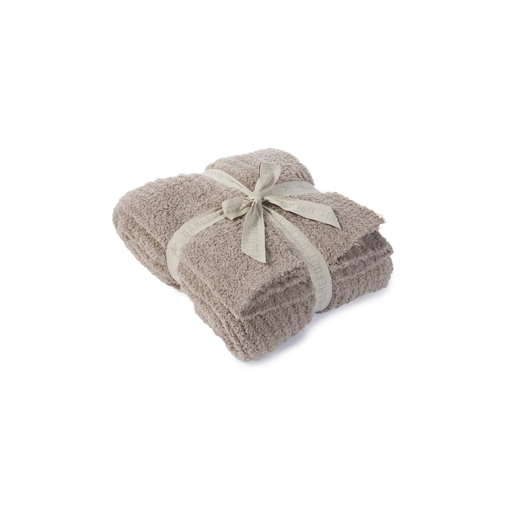 Barefoot Dreams CozyChic Ribbed Throw Blanket 54