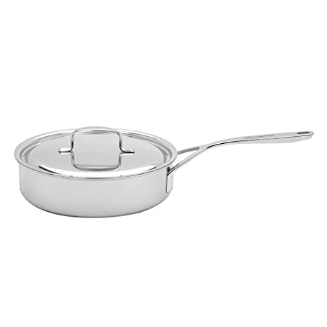 Amazon.com: Demeyere 5-Plus Acero Inoxidable 3-QT sartén ...