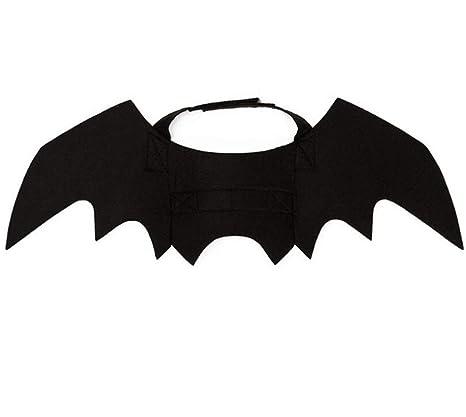 JLFDHR Disfraz de Gato de Halloween Alas de murciélago de ...
