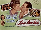 Lover Come Back, George Brent, Lucille Ball, Vera Zorina, Charles Winninger, 1946 - Premium Movie Poster Reprint 12
