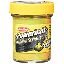 Berkley PowerBait FW Natural Garlic Scent Glitter Trout Fishing Bait
