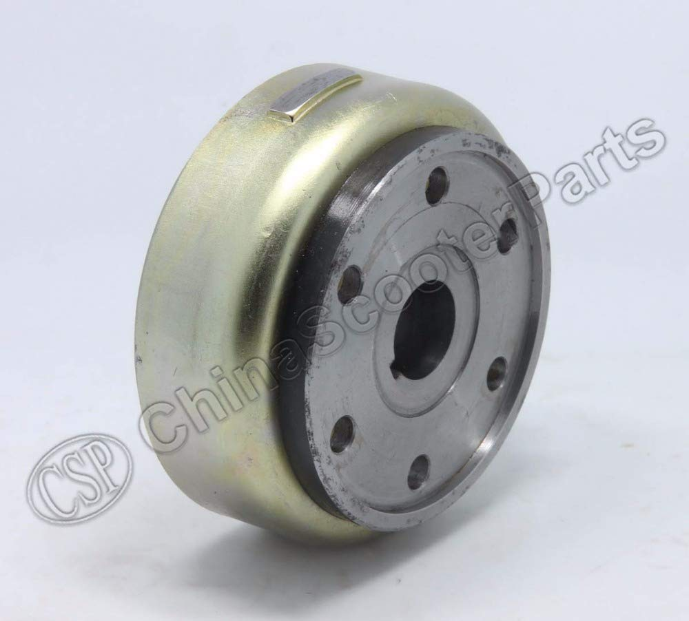 Zereff Parts & Accessories Zrf Buyang Majesty Yp250 250 260 300 ATV Quad Flywheel Rotor Assy Magneto Coil Cover 95Mm