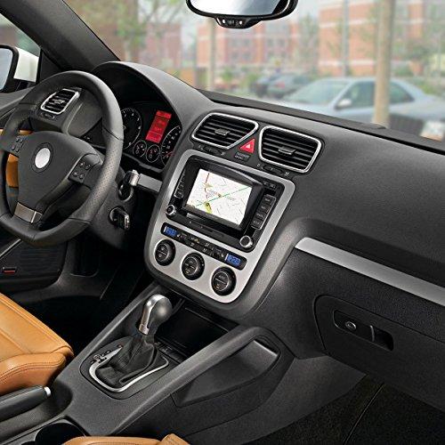FLOUREON Pantalla táctil LCD capacitiva de 7 Pulgadas de navegación GPS de Coches Navegador de camión y Coche con actualizaciones...