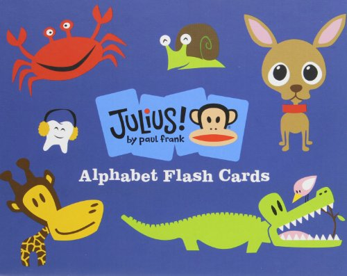 Julius!: Alphabet Flash Cards