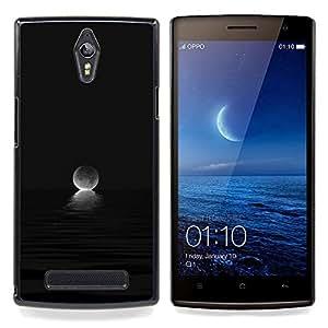 """Planetar ( Hombre Linterna Bosque Noche Oscura"""" ) OPPO Find 7 X9077 X9007 Fundas Cover Cubre Hard Case Cover"""