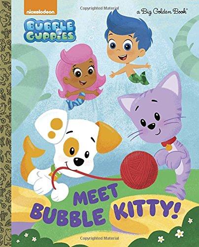 Amazon Meet Bubble Kitty Guppies Big Golden Book 9780553521146 Mary Man Kong Eren Unten Books