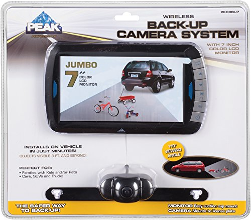 Peak PKC0BU7 Wireless 7-Inch Back-up Camera Kit by Peak