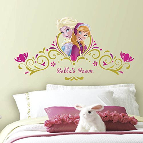 Price comparison product image RoomMates Frozen SpringTime Custom Headboard Peel and Stick Giant Wall Decals