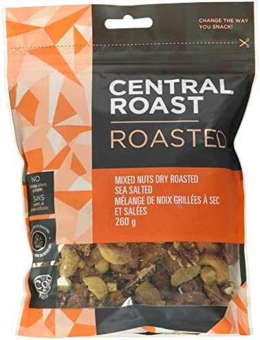 Central Roast Roasted-Mixed Nuts Dry Roasted Salted