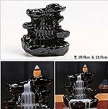T2C Ceramic Glaze Incense Backflow Censer Tower Holder Aroma Goods Smoke Cone Burner