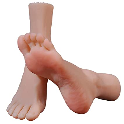 Amazon Com Jias 1 Pair Soft Silicone Female Mannequin Leg Foot