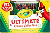 Toys : Crayola Ultimate Crayon Collection, 152 Pieces, Coloring Supplies, Styles May Vary, Gift