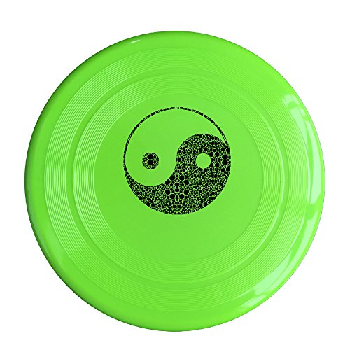 EVALY China's Gossip Yin And Yang 150 Gram Ultimate Sport Disc Frisbee KellyGreen