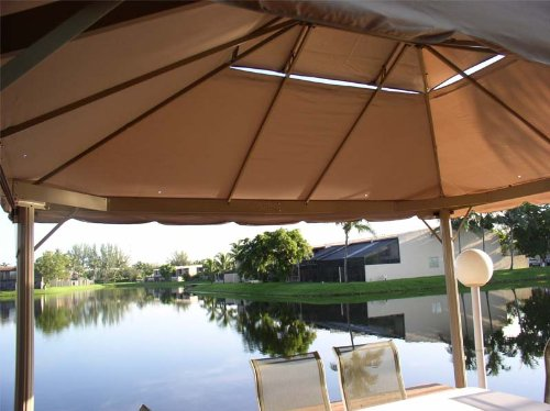 Garden Winds 10 X 12 Two-Tiered Gazebo Replacement Canopy