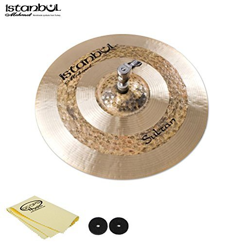 Istanbul JF-HHS13-KIT-1 Mehmet Cymbals Sultan Hi-Hat 13 with Cymbal Felts & Polish Cloth