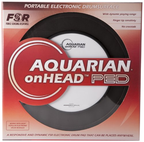 Aquarian Electro-Acoustic OHP10B Electronic Drum Pad by Aquarian