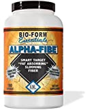 Alpha-Fibe Fat Absorbing Smart Target Slimming Fiber (180 Fast-Acting Capsules) The Original and Only 100% Pure Alpha-Cyclodextrin (ACD) Weight Loss Fiber by Bio-Form Essentials