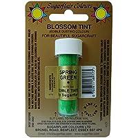 Sugarflair Blossom Tints Essbare Puderfarben Lebensmittelfarbe Fondant Puder Spring Green Grun