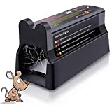 Electronic Rat Trap, Rodent Mouse Traps Large, High Voltage Rodent Efficiently and Quietly
