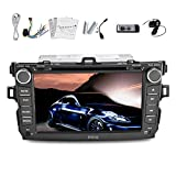 In Dash Navigation GPS Car Stereo Car DVD Player For Toyota COROLLA 2007-2011 8 Inch Touchscreen Car Video Audio RDS Stereo Radio FM/AM TV In Dash PC